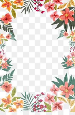 Border Design Png Floral Border Design Cleanpng Kisspng