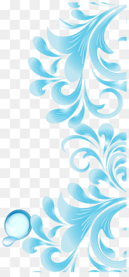 Blue Flower Png Blue Flower Border Royal Blue Flower
