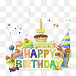 Cartoon Cake Png Happy Birthday Cartoon Cake Cleanpng Kisspng