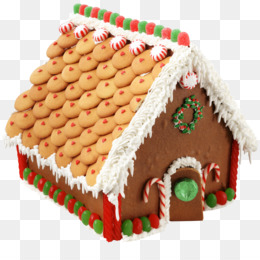 large transparent gingerbread house png picture 5a3b658f75e707.7432213815138420634829