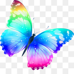 Butterfly Rainbow Png And Butterfly Rainbow Transparent Clipart Free Download Cleanpng Kisspng