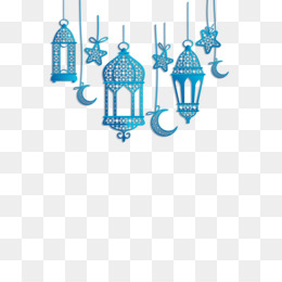 Blue Islamic Pattern Background Png