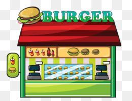 Hamburger Cartoon