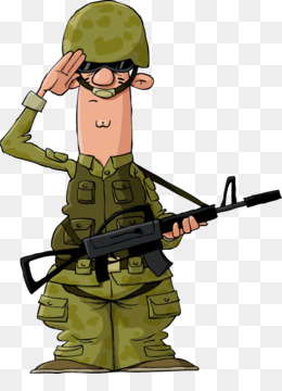 Soldier, Saluting, Salute, Man, Person, General - Military Clipart, HD Png  Download - kindpng
