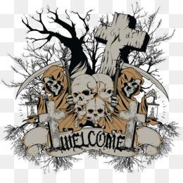 Halloween Cartoon Background