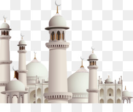 kisspng mosque kaaba eid mubarak eid al fitr ramadan islamic architecture on blue background 5a700d4ff0e821.8210223715172928799868