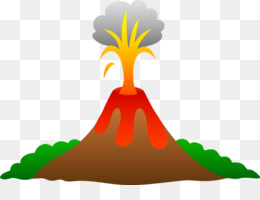 Volcano Png Volcano Lava Volcano Vector Cartoon Volcano