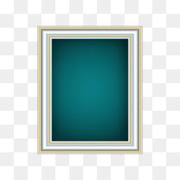 Background Blue Frame