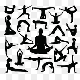 Silhouette Yoga Png And Silhouette Yoga Transparent Clipart Free Download Cleanpng Kisspng