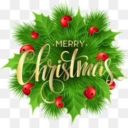 Transparent Merry Christmas Art Illustration
