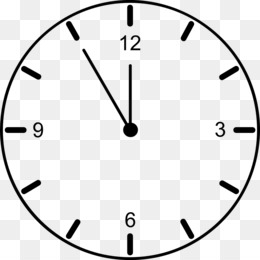 Customizable Clock Face Template from icon2.cleanpng.com