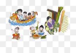 Chinese New Year Food Cartoon
