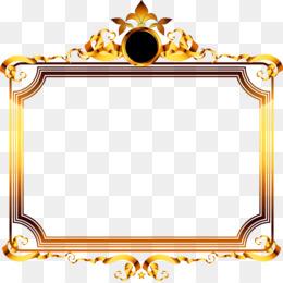 Background Gold Frame