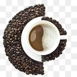 montagna di caffè verde giamaica blu