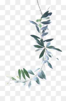Green Leaf Watercolor