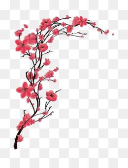 Cherry Blossom Tree Drawing