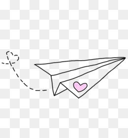 Paper Airplane Png Paper Airplane Drawing Cleanpng Kisspng
