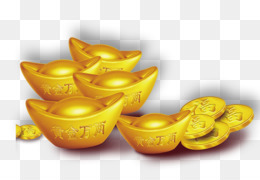 Chinese New Year Gold Coin