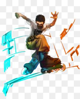 inline skates Inline inline cartoon PNG skates Skates lc1FKTJ