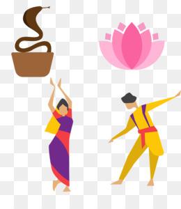 Indian Women Dancing Vector - Download Free Vectors, Clipart Graphics &  Vector Art