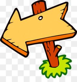 Wood Sign Arrow