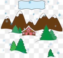 Snow Christmas Tree