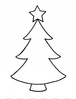 Christmas Tree Outline Png And Christmas Tree Outline Transparent Clipart Free Download Cleanpng Kisspng