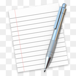 Pen And Notebook Clipart