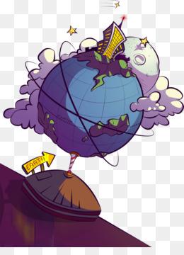 Earth Cartoon Drawing