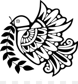 dove with olive branch clipart - Clip Art Library