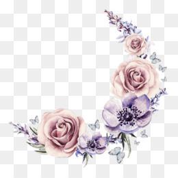 Transparent Background Flower Crown Png