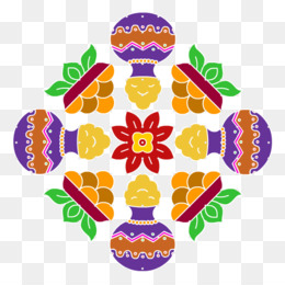 Diwali Floral Background
