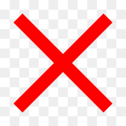 X Mark Png X Marks The Spot Cleanpng Kisspng