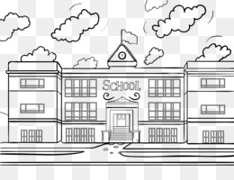 Free Download School Black And White Png Cleanpng Kisspng
