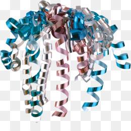 Blue Background Ribbon