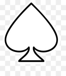 spade card template  Spade PNG - Ace Of Spades, Queen Of Spades, Spade Card, Jack ...