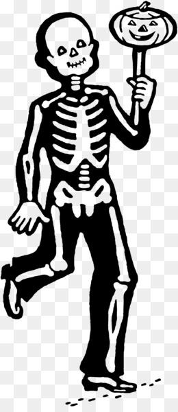 Line Art Skeleton
