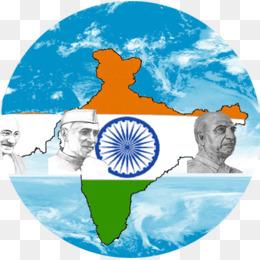 India Flag Map