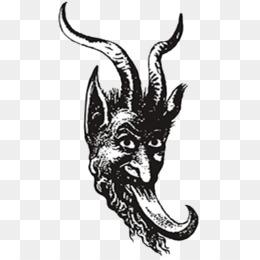 krampus drawing - Google Search   Krampus, Drawings, Black and white   260x260