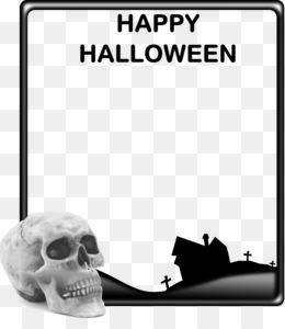 Halloween White Background