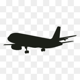 Plane Silhouette Png And Plane Silhouette Transparent Clipart Free