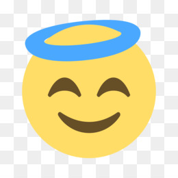 Smiley Computer Icons Emoticon Angel, smiley, miscellaneous, face png |  PNGEgg