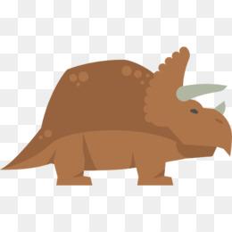 Triceratops Tyrannosaurus Dinosaur, Purple Dinosaur s, tyrannosaurus, grass  png | PNGEgg