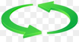 Circle Background Arrow