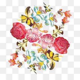 Watercolor Wreath Flower