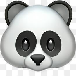 kisspng giant panda emojipedia sticker iphone 5b0337816d0d82.8858409415269374734467