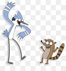 Regular Show: Mordecai and Rigby in 8-Bit Land Regular Show: Mordecai and  Rigby in 8-Bit Land Cartoon Network Television show, regular show mordecai  and rigby transparent background PNG clipart | HiClipart