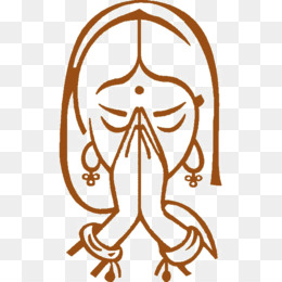 Namaste Hands Png - Namaste Logo Png , Free Transparent Clipart - ClipartKey