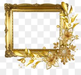 Gold Background Frame