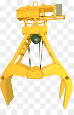 Grapple Truck Yellow